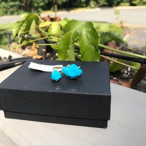 NWT Kendra Scott Adjustable Ring Blue Kayla